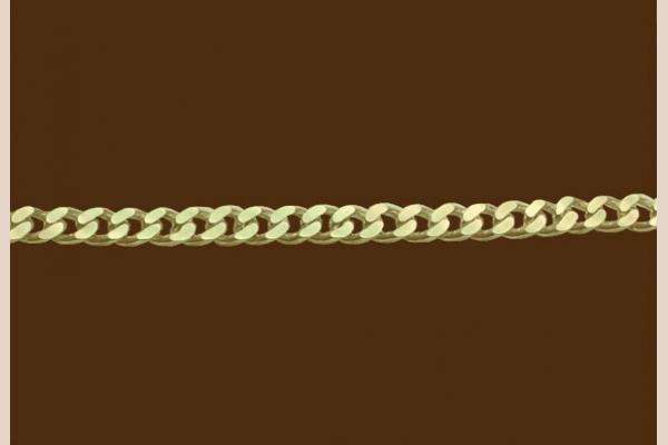 Цепь из золота: плетение Панцирная