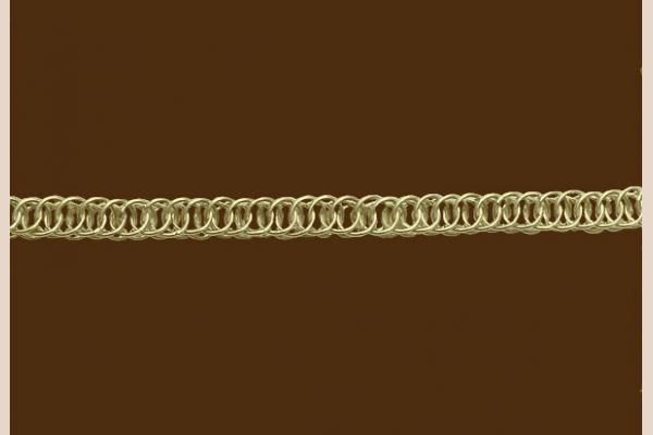 Цепь из золота: плетение Персидское