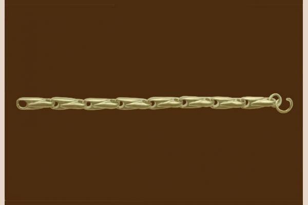 Цепь из золота: плетение Пуля