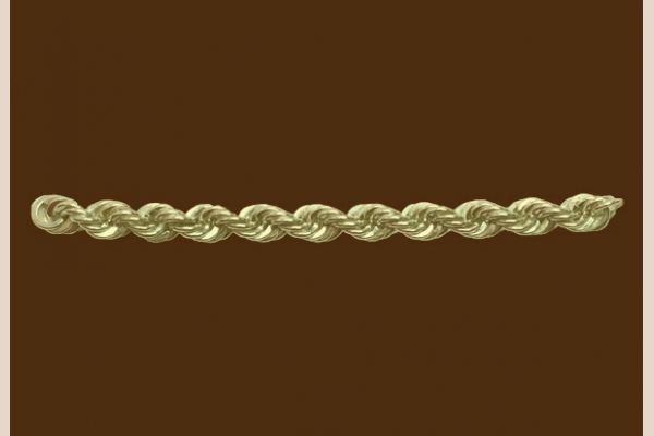 Плетение цепочки верёвка